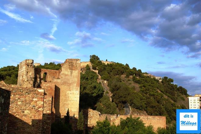 kasteel Gibralfaro Malaga