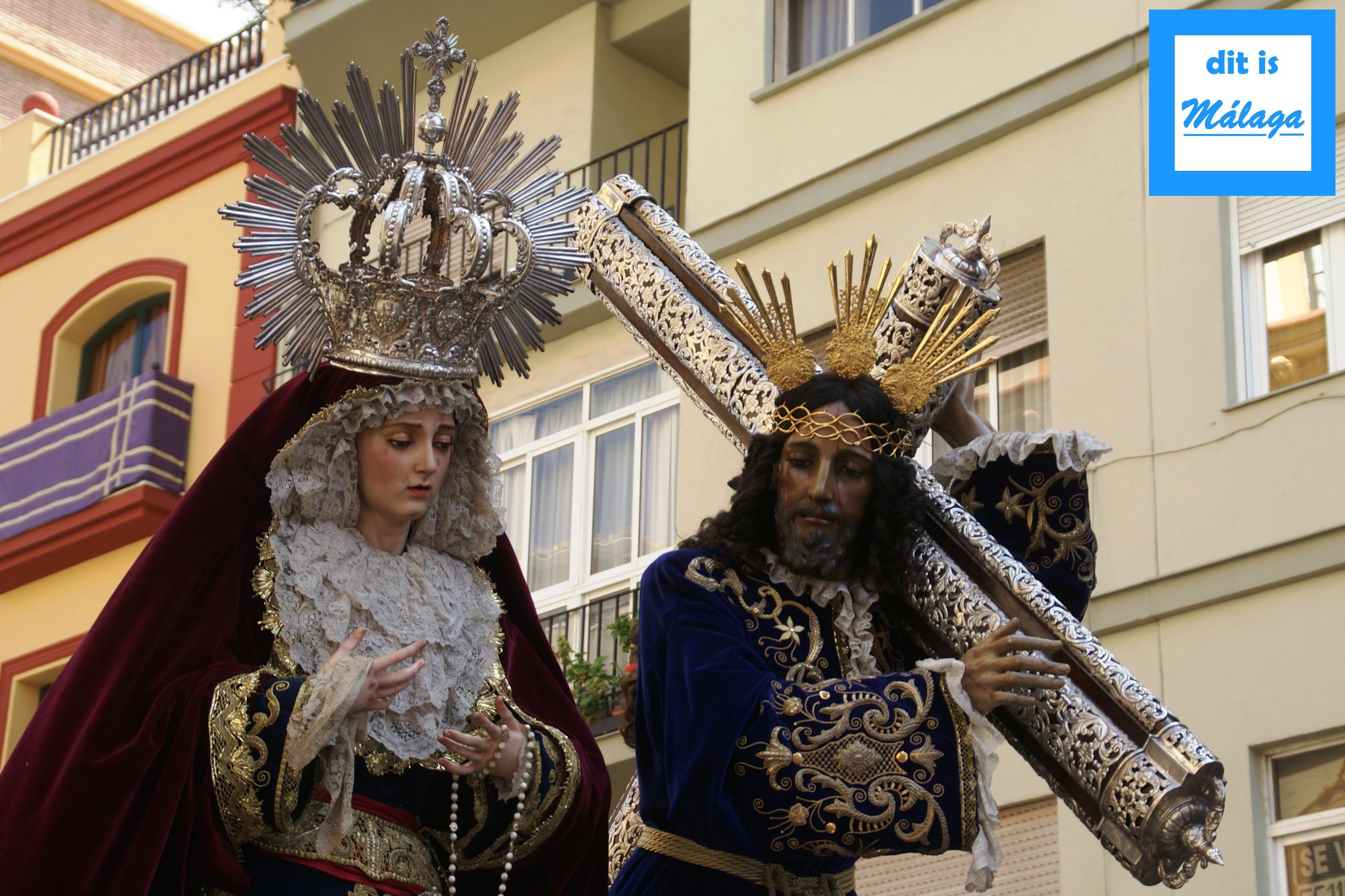 El Rico processie Malaga