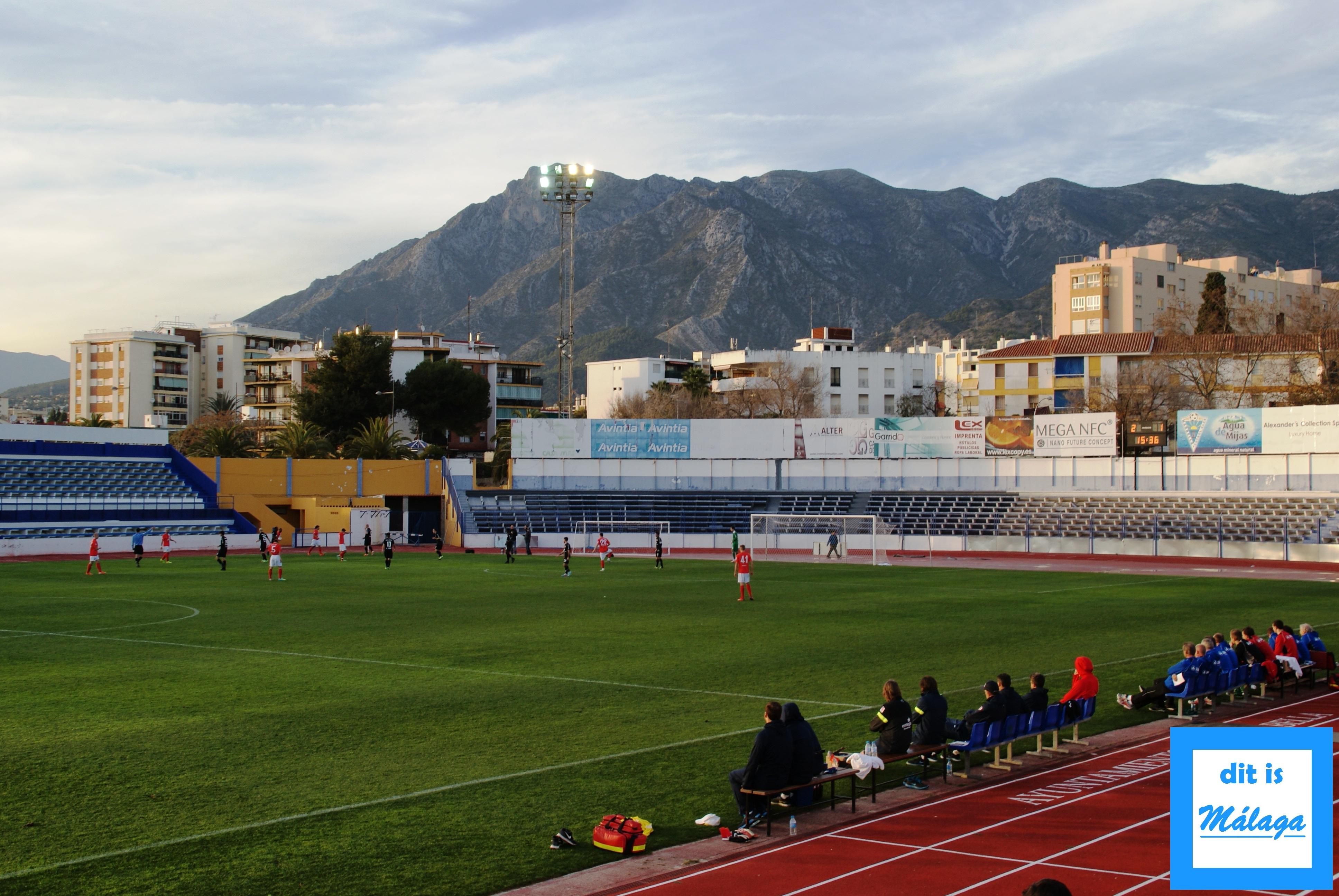 Vriendschappelijke voetbalwedstrijden aan de Costa del Sol