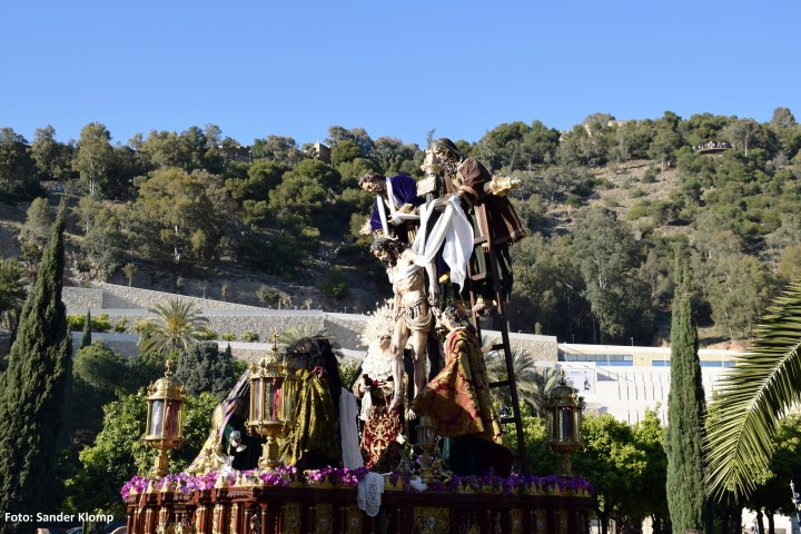Descendimiento Málaga Semana Santa
