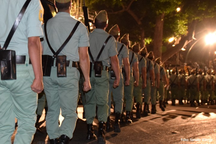 La Legion Semana Santa malaga