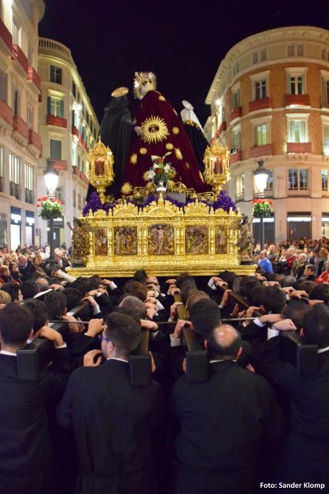 Troon Calle Lario Semana Santa Málaga
