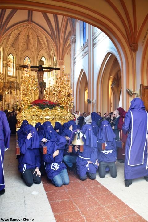Salida Cristo Salud Semana Santa