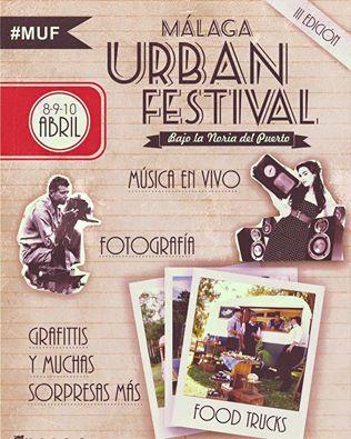 Malaga Urban Festival weekend