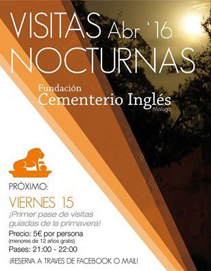 Visita nocturna Cementerio Ingles