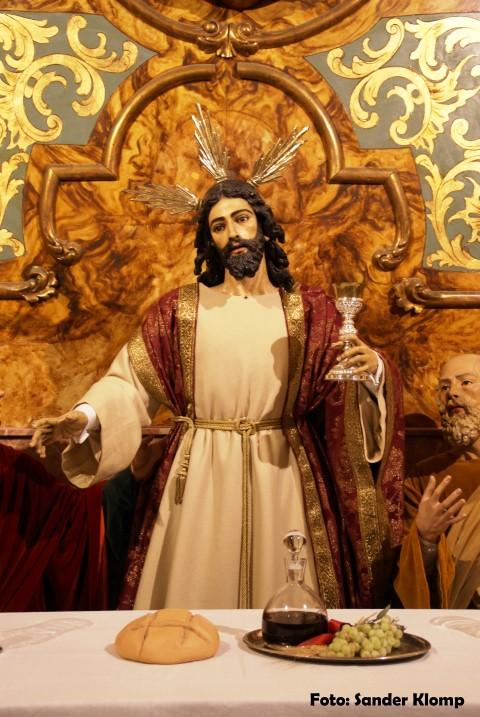 Cristo Sagrada Cena