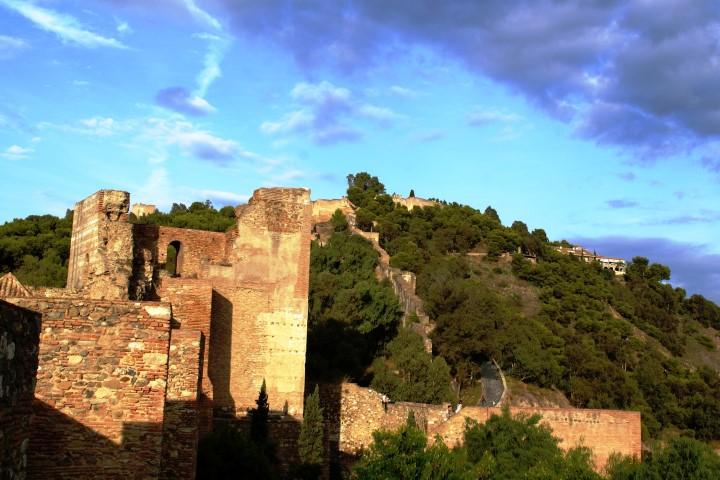 Alcazaba zomer Málaga