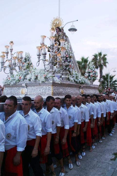Processie Virgen del Carmen