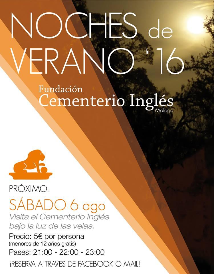 Avondbezoek Cementerio Ingles