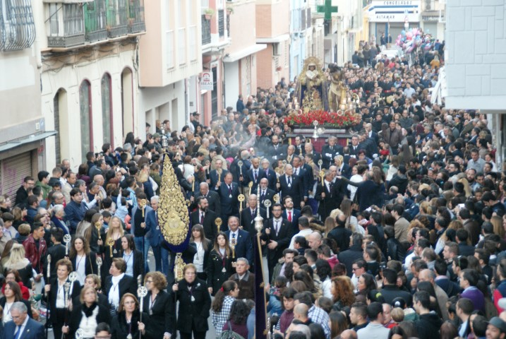 Traslado Gitanos Semana Santa Málaga