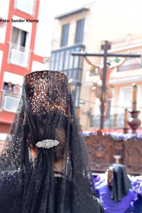 Mantilla Crucifixión