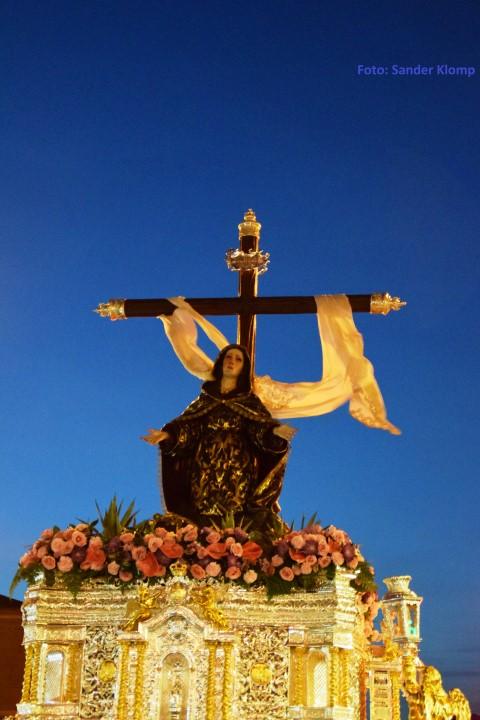 Trono Soledad San Pablo