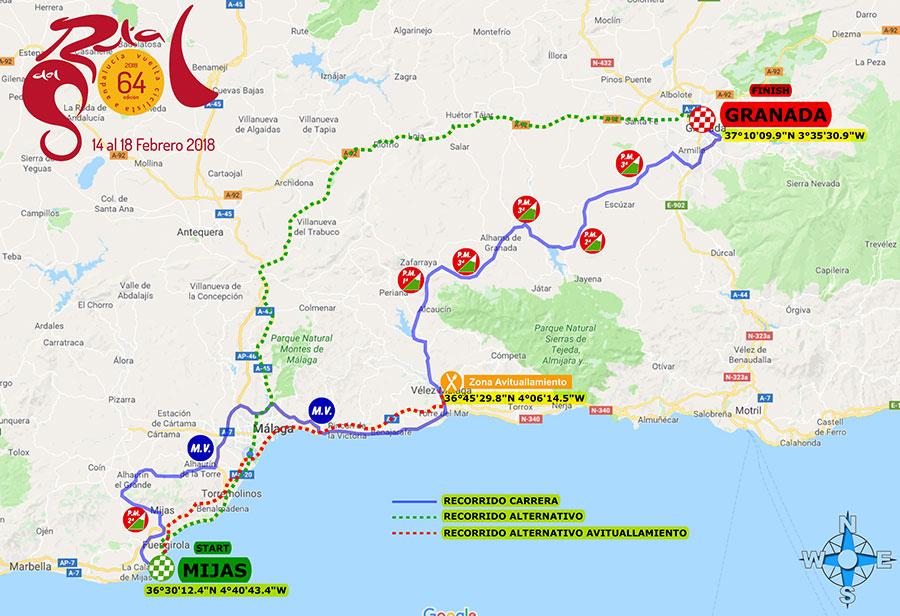 Wielrennen Málaga