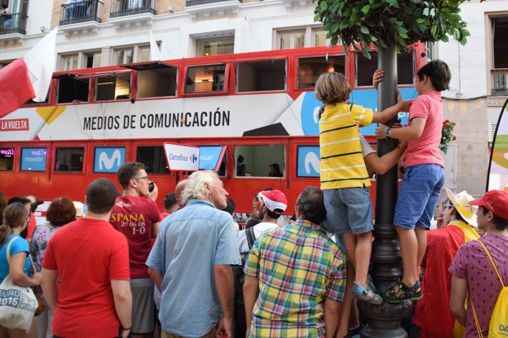 Fotoverslag Vuelta de España in Málaga